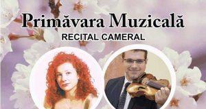 Recital cameral: Primăvara Muzicală - la Filarmonica Lyra-George Cavadia