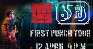 AXIS - First Punch Tour // pe 12 aprilie @ 55 Pub Galaţi