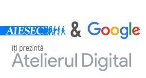 Atelierul Digital - specialiştii Google vin la Galați pe 9 mai