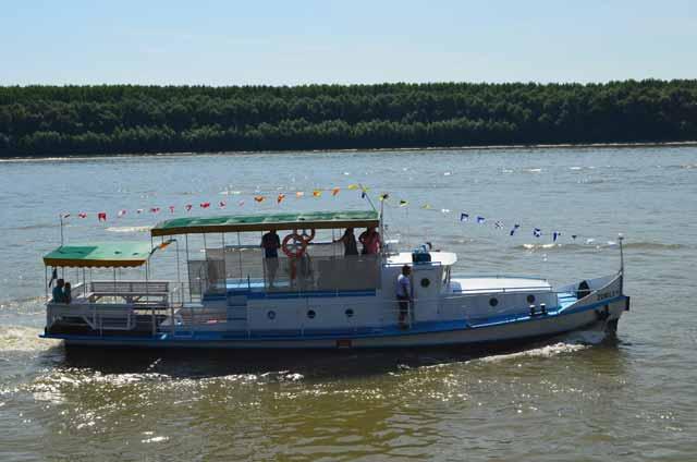 S-a deschis sezonul pentru plimbări de agrement pe Dunăre, la Brăila