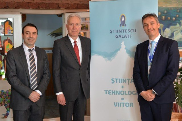 Vizita Ambasadorul Hans Klemm la Științescu Galați