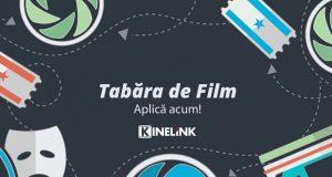 Înscrie-te la Tabăra de Film Kinelink, ediția a IV-a. Locurile sunt limitate!