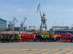 Aplicaţie pentru intervenţia în situaţii de urgenţă la Şantierul Naval Damen