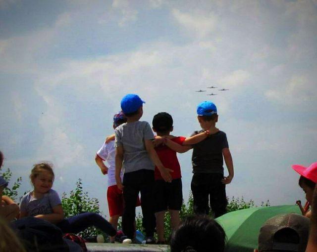 C Day - Children's Open Day la aerodromul din Vădeni