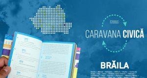 Caravana Civică: Funky Citizens ajunge la Brăila pe 7 mai