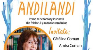 Lansare și lectură - seria Andilandi de Sînziana Popescu - Librăria Donaris