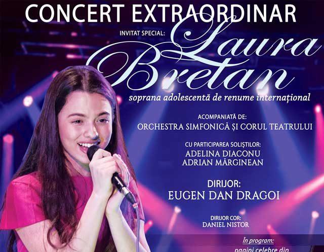 Laura Bretan, soprana de renume internațional, pe scena Teatrului Nae Leonard