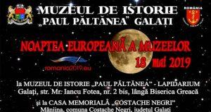 Muzeul de Istorie vă invită la Noaptea Europeană a Muzeelor