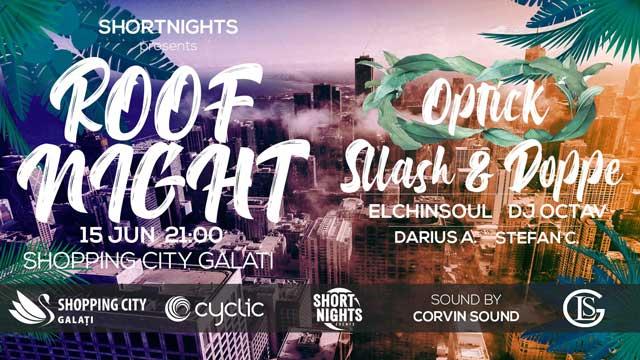 Prima ediție de Roof Night pe terasa Shopping City Galați!