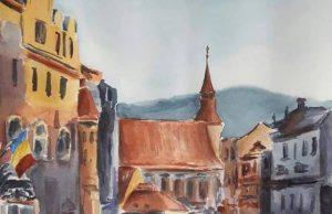 Vernisaj expoziție de pictură Viața e o culoare cu Tetiana Ianciu
