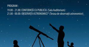 Ziua Internațională a Astronomiei - sărbătorită la Observatorul din Galați