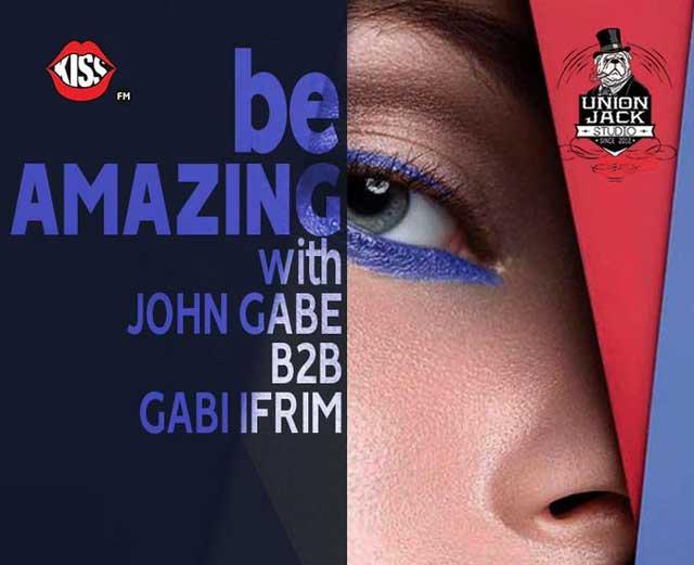 Be AMAZING with John Gabe B2B Gabi Ifrim @ Union Jack Studio