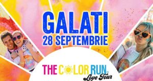 The Color Run Love Tour Galati