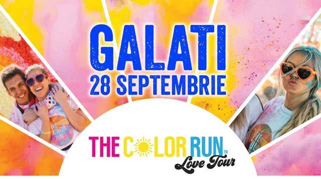 The Color Run Love Tour Galati