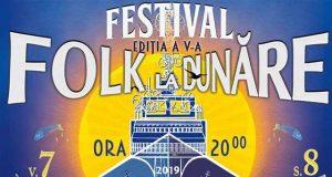 Festivalul Folk la Dunăre 2019 - ediția a V-a - în perioada 7-9 iunie