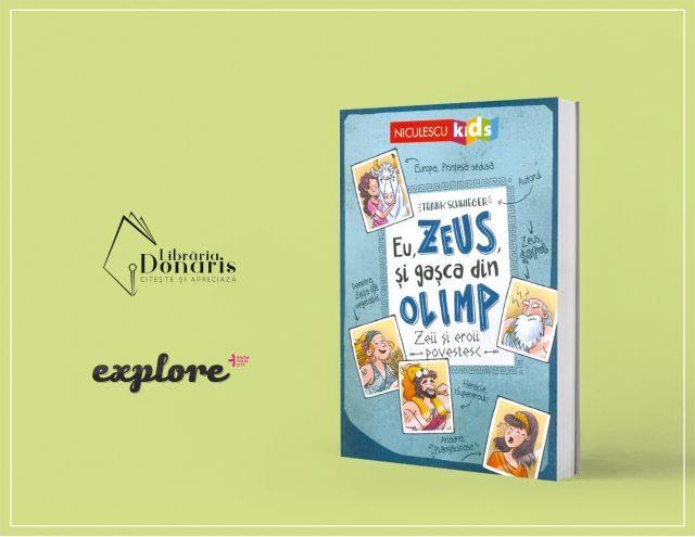 GIVEAWAY! Câștigă cartea cu gașca zeilor din Olimp