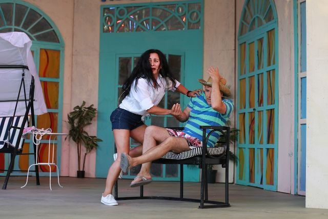 """O familie trăsnită, în Grădina de vară a Teatrului """"Nae Leonard"""""""