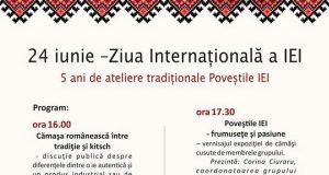 Poveștile IEI - ateliere și expoziții organizate de Ziua Internațională a Iei