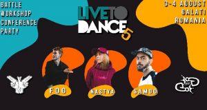 Live To Dance - Party și Battle la a-5-a ediție a concursului Hip Hop