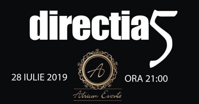 Super concert - Directia 5 vine în Brăila la Atrium Events