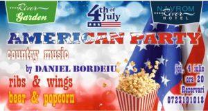 American party la Hotel Navrom River Galați pe 4 iulie