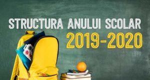 Anul şcolar 2019-2020