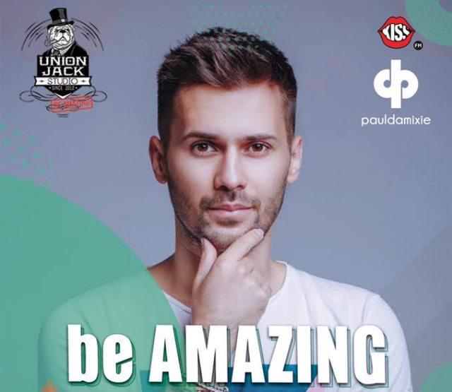 Be Amazing with special guest Paul Damixie la Union Jack!