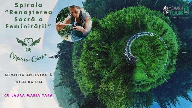 """BrăilaGalați - Spirala """"Renașterea Sacră a Feminității"""" cu Laura"""