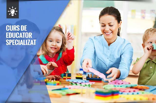 Curs de Educator Specializat în Galați. Locurile sunt limitate