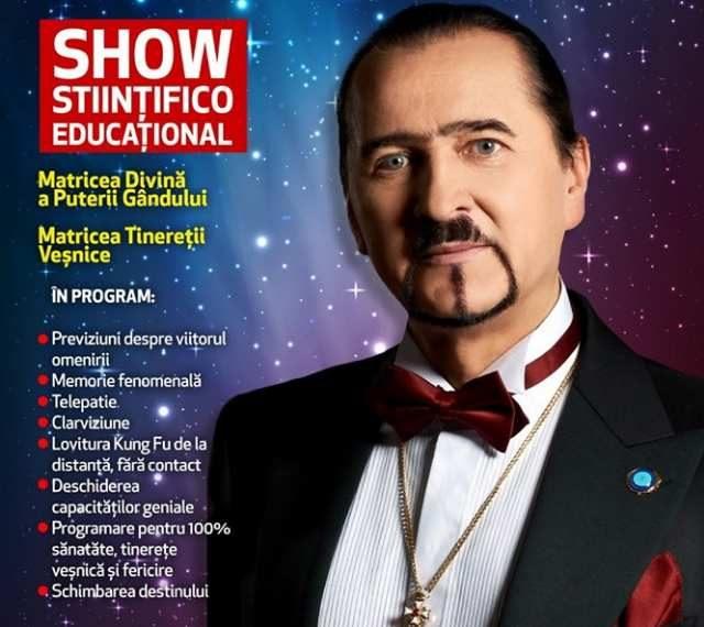 Show stiintifico-educational la Teatrul Muzical Nae Leodard pe 16 iulie.