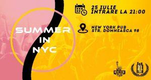 Summer in NYC - Petrecere și jocuri în stil american