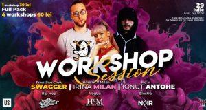 Workshop Session cu Swagger, Irina Milan și Ionuț Antohe
