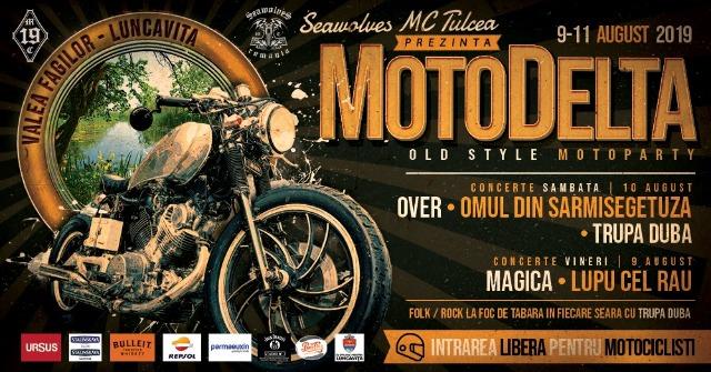 Seawolves MC Tulcea te invită la MotoDelta Fest 2019