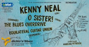 Kenny Neal invitat special la Dichis'n'Blues 2019 Tulcea