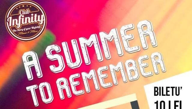 A Summer To Remember party de neuitat la Infinity