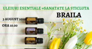 Seminar cu uleiuri esențiale terapeutice în Brăila - Sănătate la sticluță