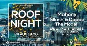 Roof Night cu Mahony, Sllash&Doppe, Dobrikan, The Model, Bross