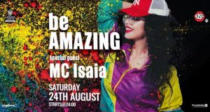 be AMAZING with special guest MC Isaia la Union Jack