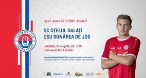 Hai la meci cu SC Otelul Galati - CSU Dunărea de Jos