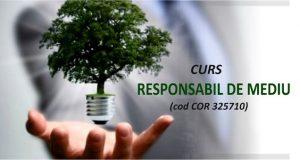 Curs Responsabil de mediu - începând cu 2 septembrie în Brăila