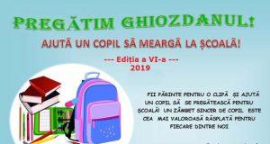 Ajută un copil să meargă la şcoală - donează rechizite şi ghiozdane