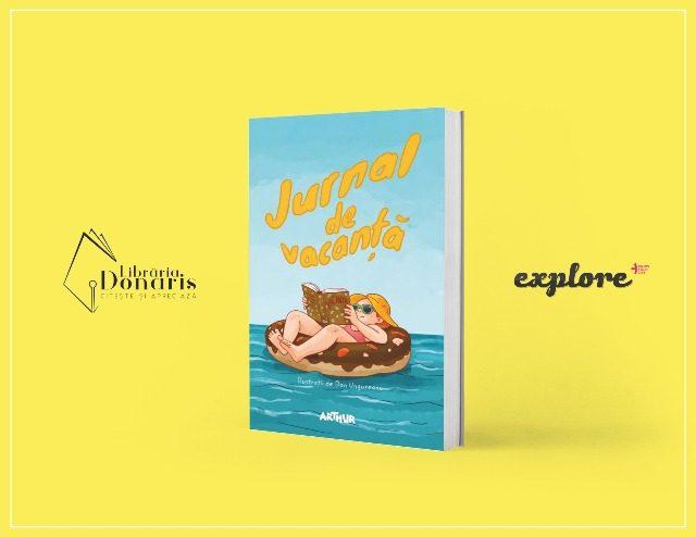 """GIVEAWAY! Câștigă cartea oferită de librăria Donaris: """"Jurnal de vacanță"""""""