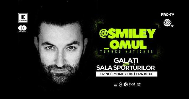 Smiley vine la Galați cu ocazia celui mai mare turneu național