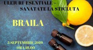 Seminar cu uleiuri esențiale terapeutice – Sănătate la sticluță