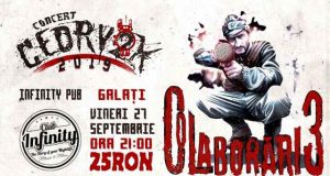 "Cedry2k vine la Galați unde va lansa noul album ""Colaborări 3"""