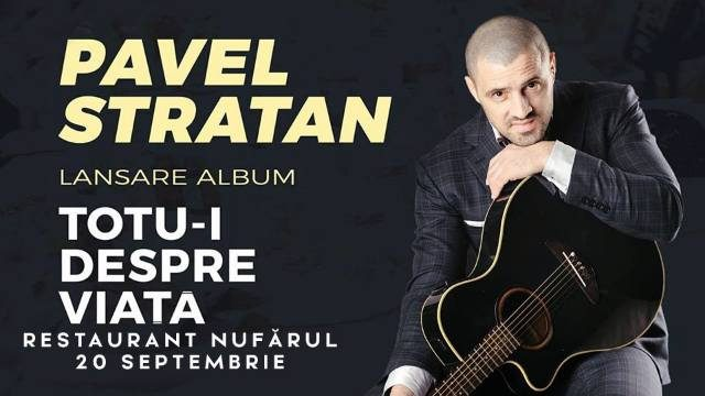 Concert Pavel Stratan - Turneul național