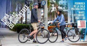 City Spin - Tură de oraș cu bicicletele pe drumuri publice