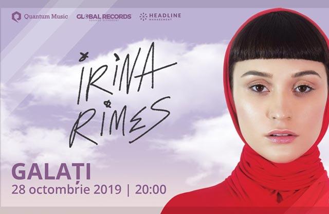 Concert Irina Rimes - Galați