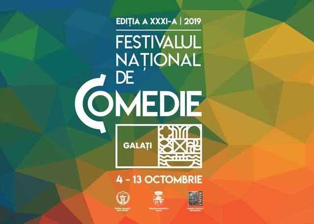 S-au pus în vânzare bilete la Festivalul Național de Comedie de la Galați