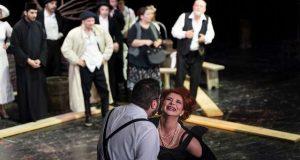 Teatrul Dramatic Fani Tardini te invită la spectacolul Salba Dracului